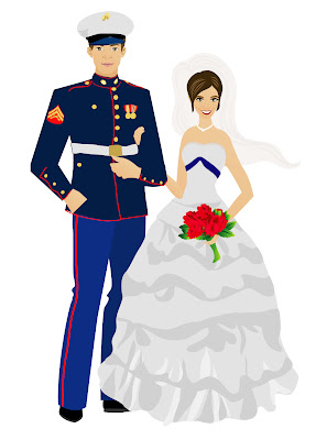 Woodlark Designs Custom Military Wedding Invitations