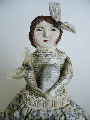 BeeKeeper Folk Art Doll