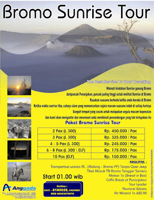 Anggada Indonesia Tours Travel Bromo Sunrise Tour