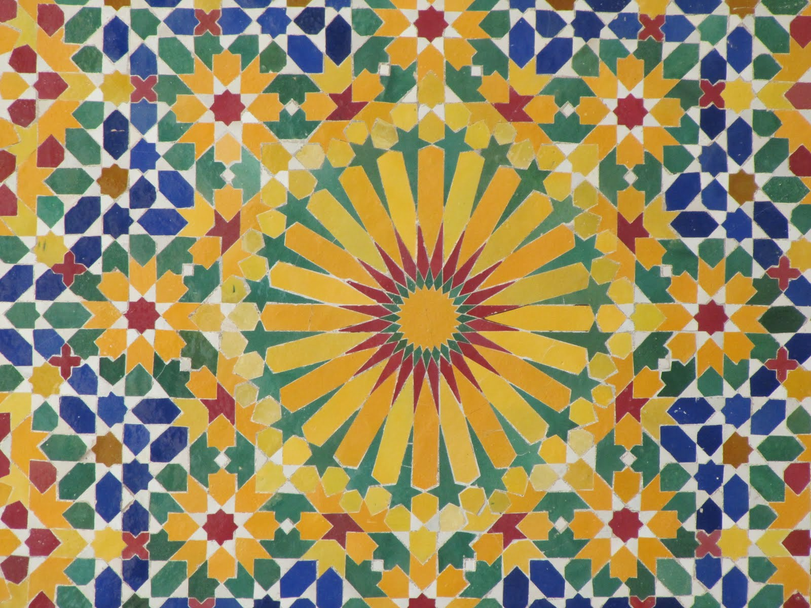 Celestial ramblings patterns of morocco part 1 for Celestial pattern fabric