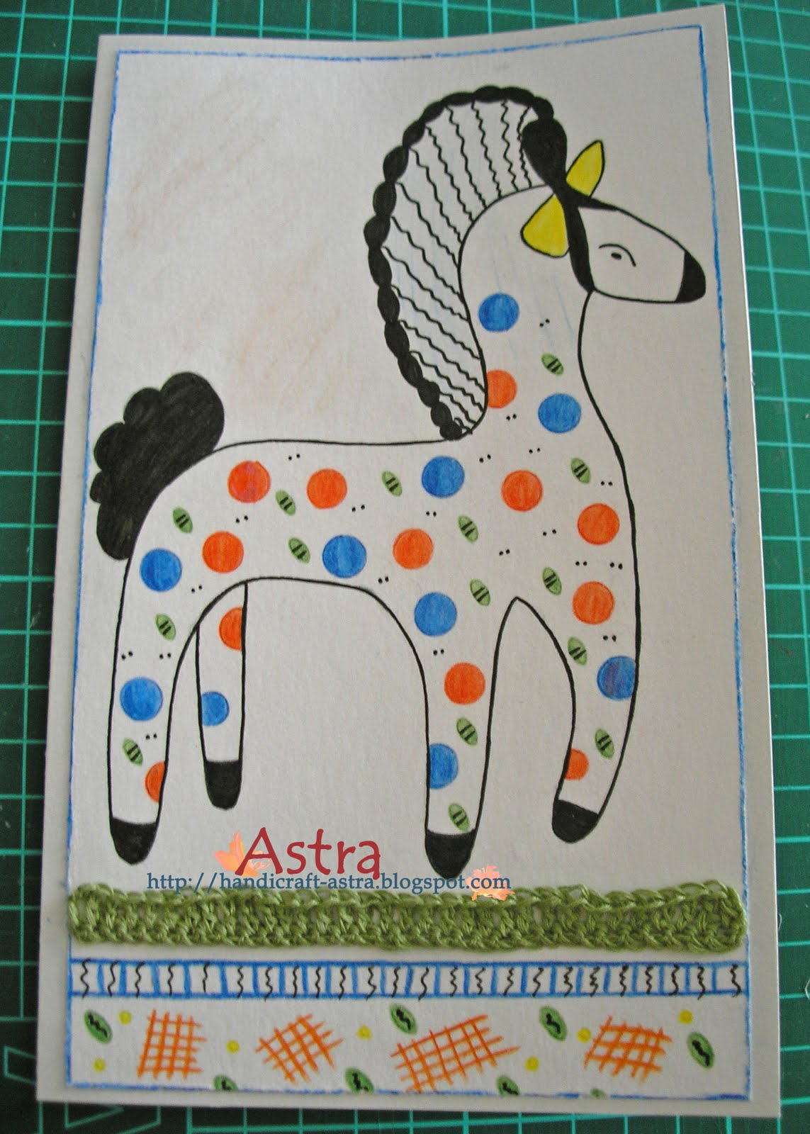 Scrap калейдоскоп детская lt b gt открытка lt b gt по мотивам дымковской игрушки