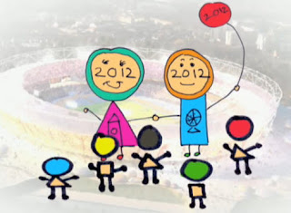 Leah and Ore's design for the London Olympics
