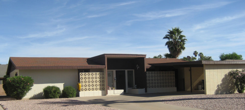 Waterrose Handcrafted Obsessions Phoenix Home Architecture 1960s