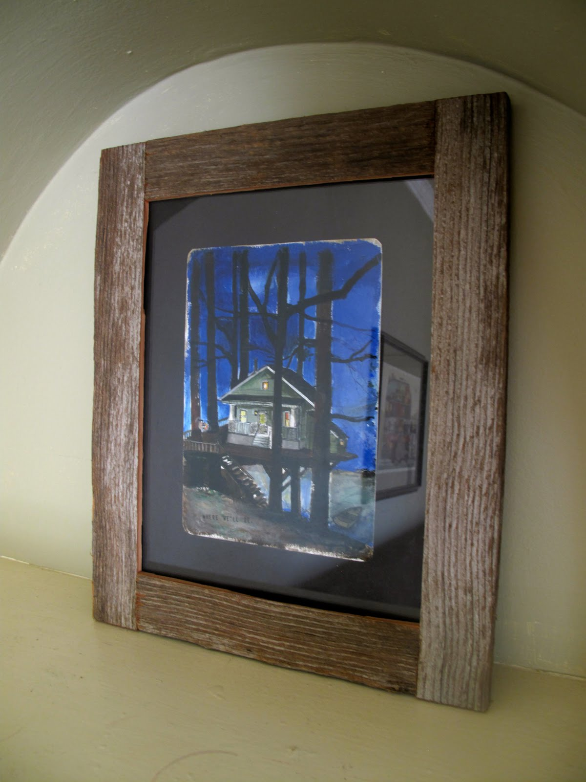 JACK at RANDOM: DIY: Reclaimed Wood Frame