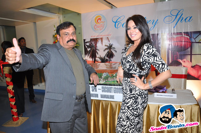 Mahima Chaudhary Launches Country Spa