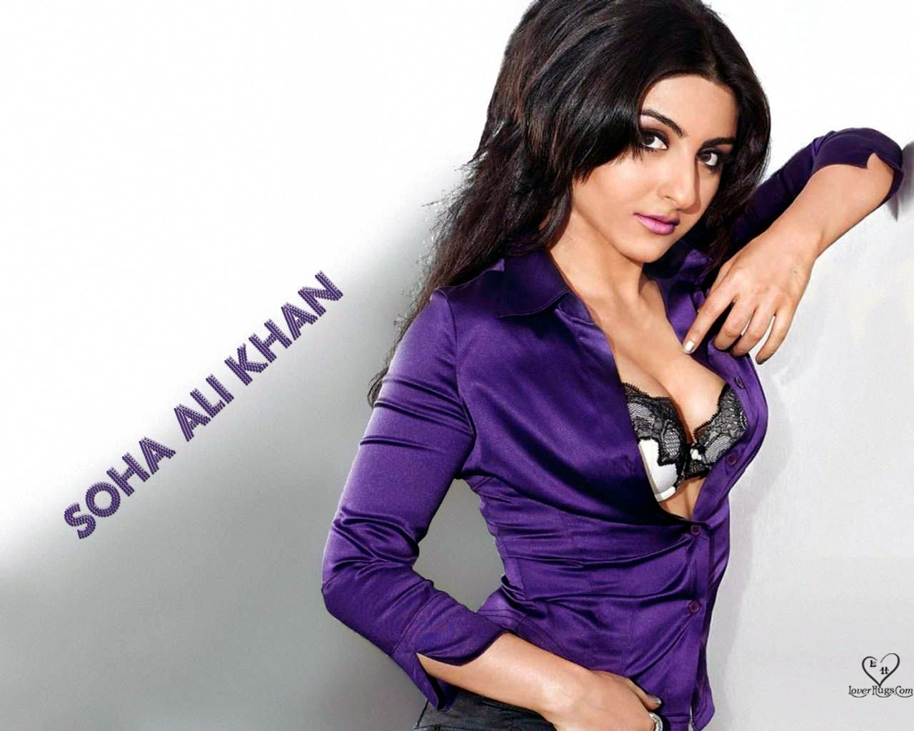 , Soha Ali Khan 4 HOT Wallpapers