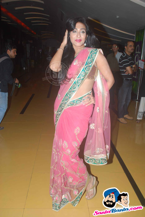 Rituparna Sengupta Hot in Saree at Life Express Premiere 
