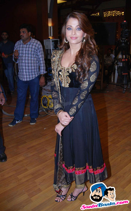 Aishwarya Rai at Master Chef Press Meet