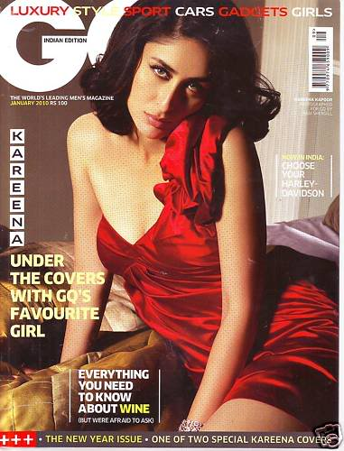 Kareena Kapoor HOT GQ Mag Scans