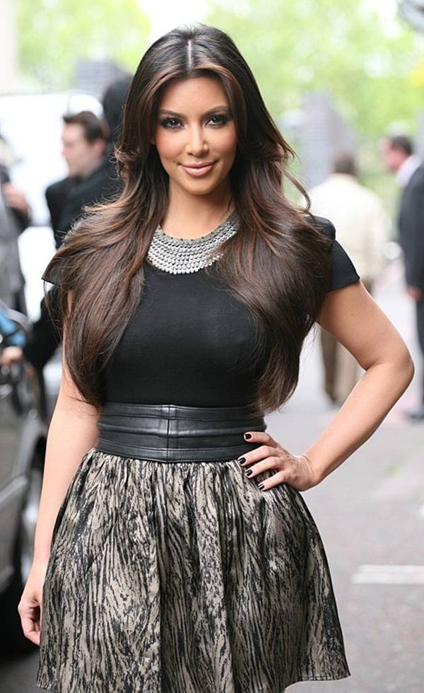  Kim Kardashian Hot Pics from ITV UK Office