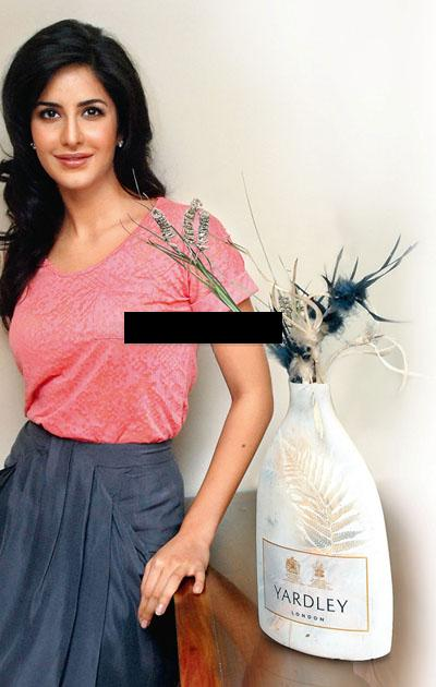 Katrina New Yardley and Spice Ads