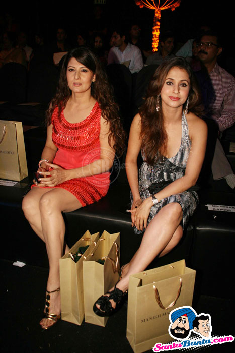 Urmila, Sangeeta, Mandira - Guests at HDIL