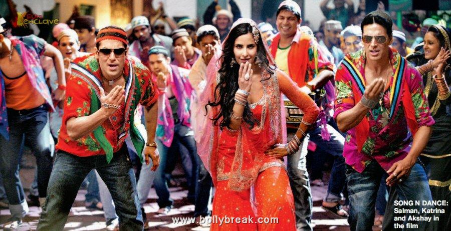 Pic : Salman Katrina Tees maar khan item song