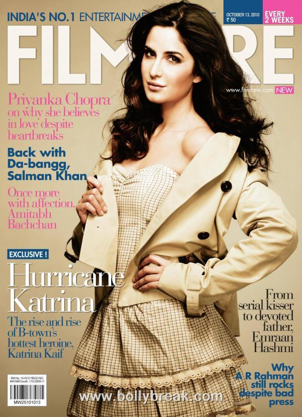 Katrina Kaif Filmfare Cover - October