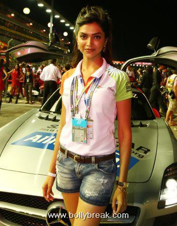 Deepika Padukone for Force India F1 Team