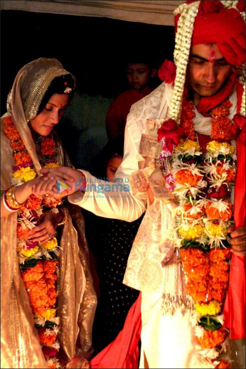 Konkona Sen Sharma & Ranvir Shorey's Marriage Pics