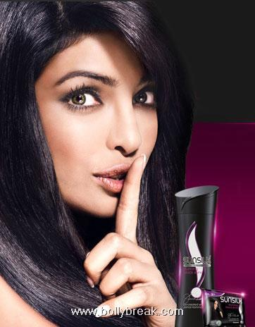 Priyanka Chopra Latest Sunsilk Hair Ads
