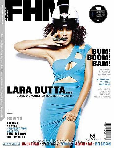 Lara Dutta FHM Mag Scans - October 2010