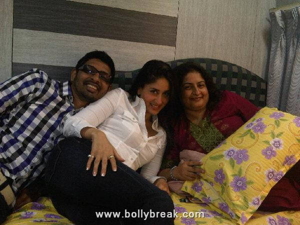  Kareena Kapoor with Filmfare Team - Real Life Pics