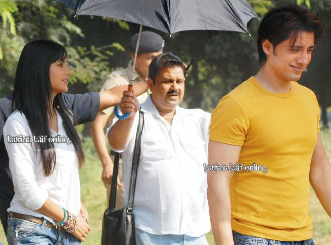 Katrina Kaif, Imran Khan And Ali Zafar in Chandigarh