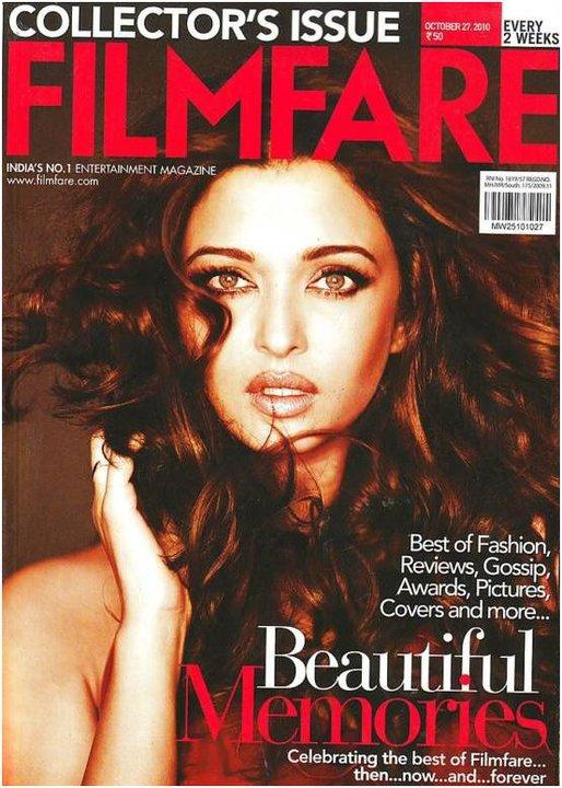 Aishwarya Rai Hot Filmfare Cover Scan