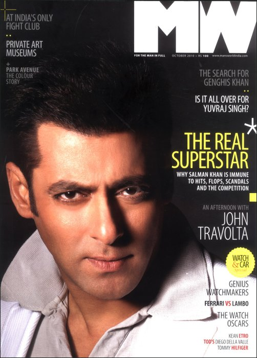 Salman Khan on cover of MW Mag