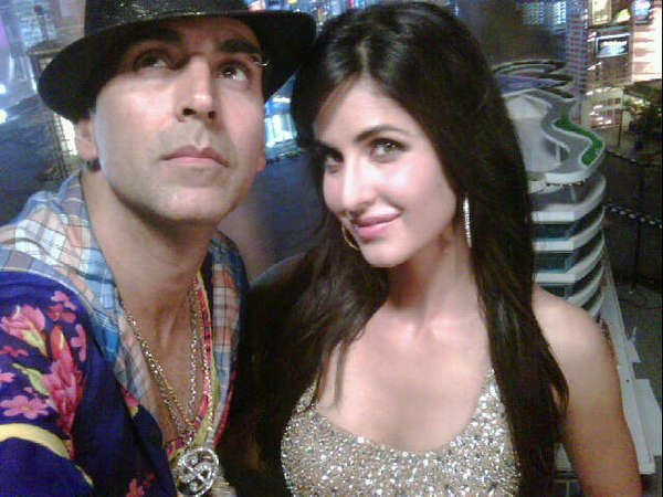 Sexy Katrina On Sets of TMK!  titlte track shoot