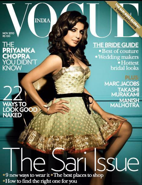 Priyanka Chopra sexes up Vogue November 2010