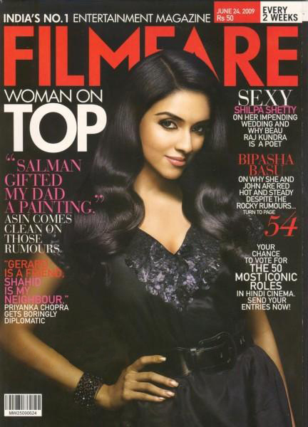 Asin on Magazine Covers