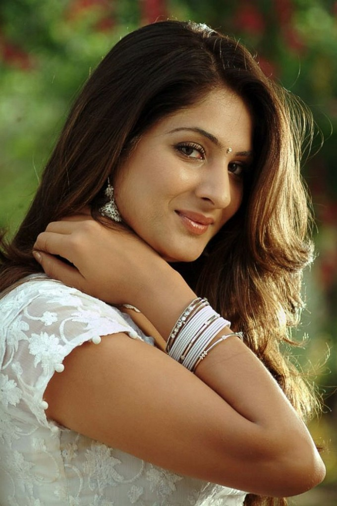 , Gowri Munjal Cute In White Dress