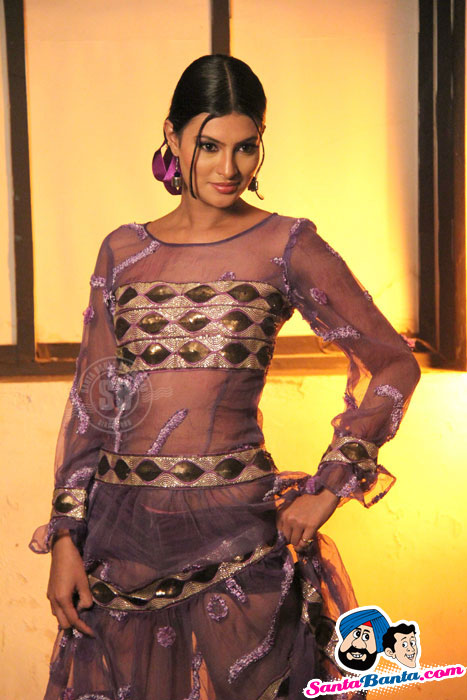 Sayali Bhagat in Sexy Transparent Dress
