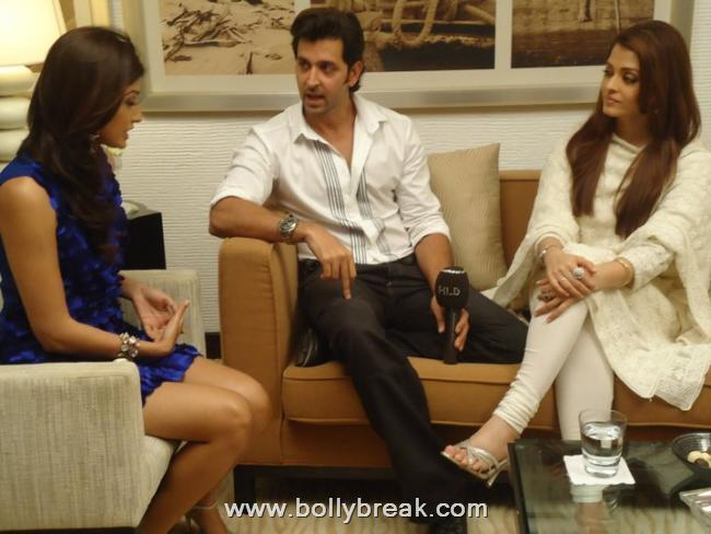 Aishwarya Hrithik promoting Guzaarish in Dubai