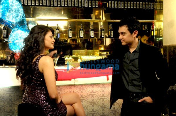 , Aamir Khan and Jacqueline Fernandes Titan Watches ad shoot