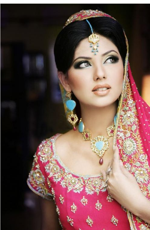 , Pakistani Brides Pics - Face Close Up