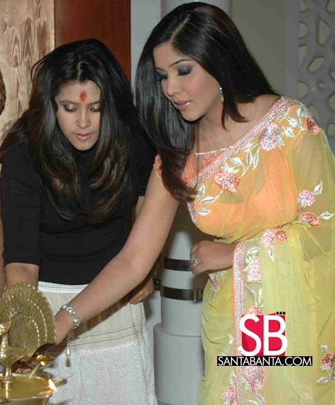  Sakshi Tanwar Saree Pics