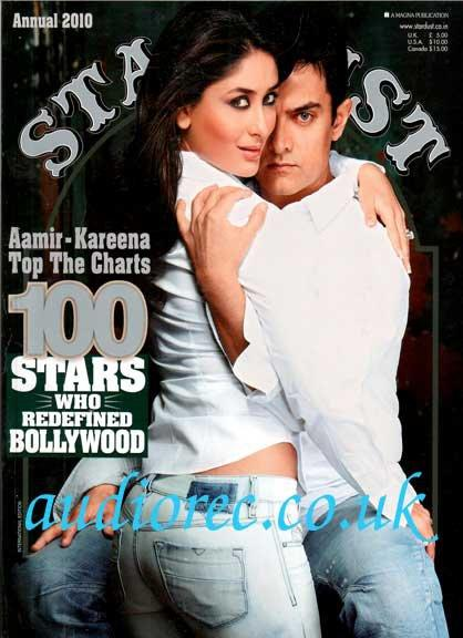 Kareena Aamir Hot Cover Scan - Stardust