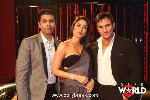 Sexy Kareena Kapoor on Koffee with Karan