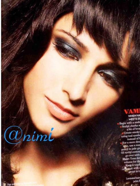  Shruti Hassan Vogue Beauty Report Photoshoot 