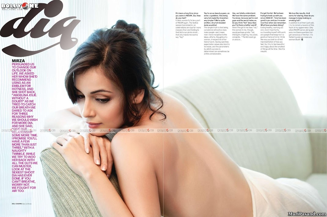 Dia Mirza Maxim November 2010 HQ Scans