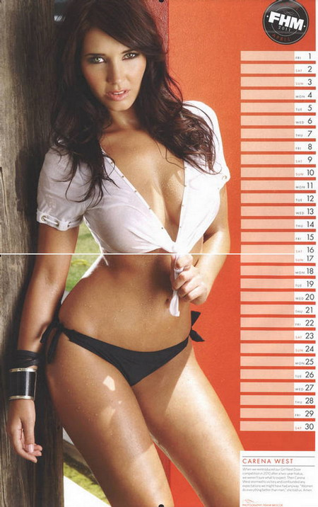 HOT FHM 2011 Calendar