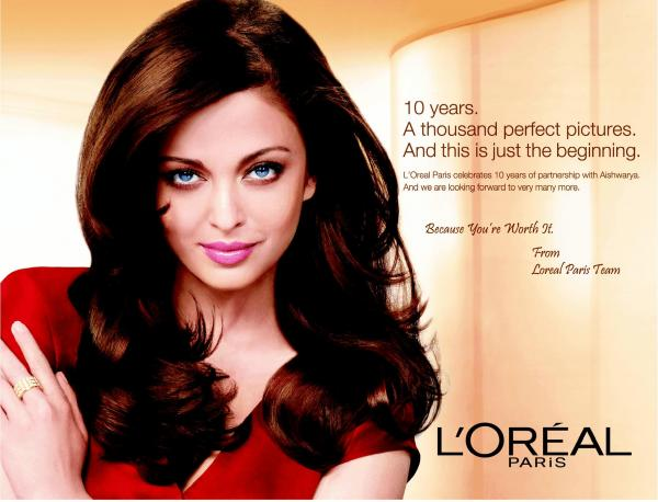  Aishwarya Rai Latest L&#39;Oreal ad 