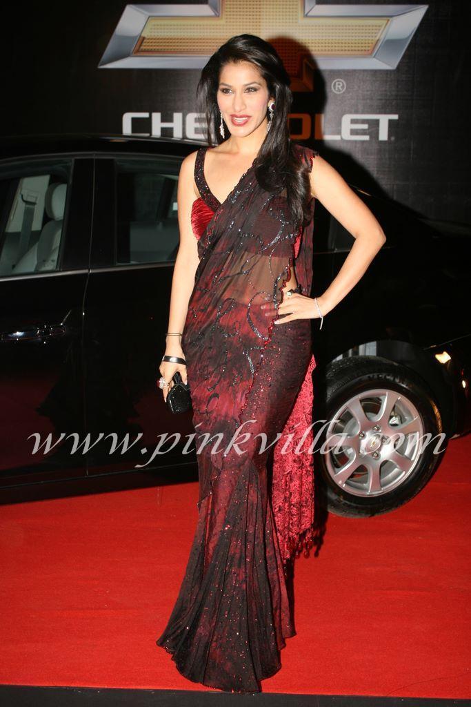 , Jacqueline, Malaika, Sophie - # Sexy Divas at Apsara Awards 2011