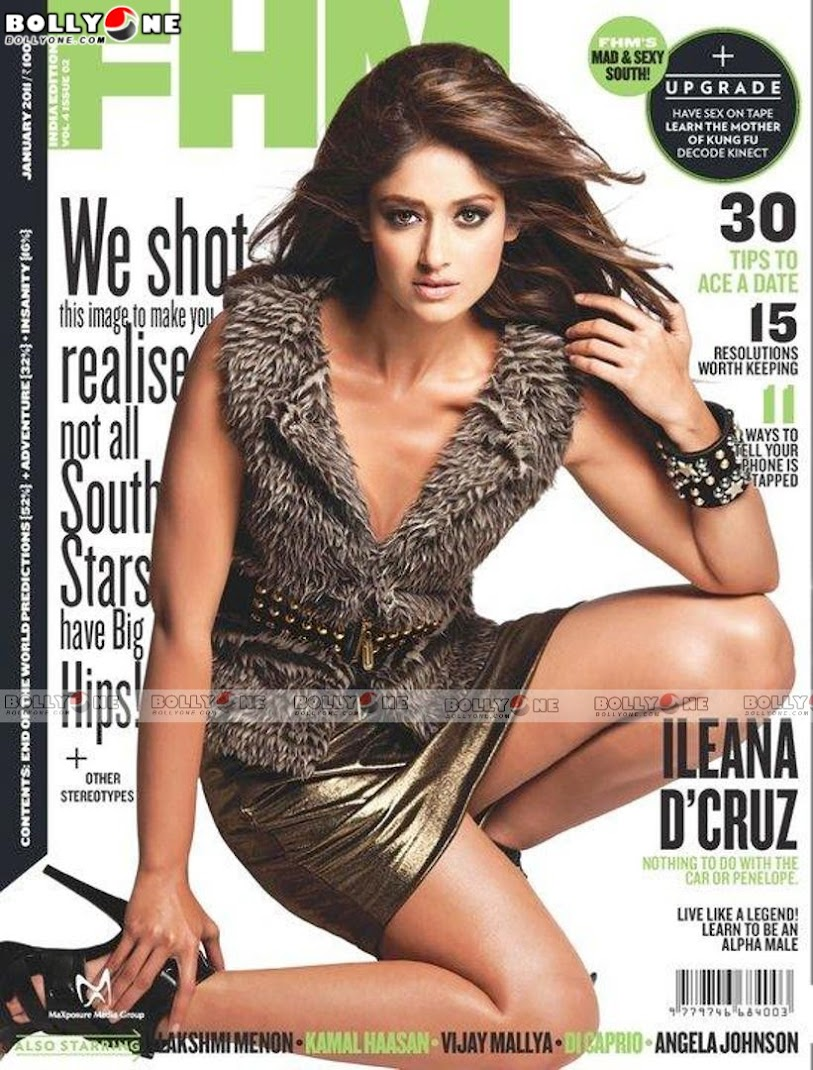 ILeana FHM Magazine January 2011 Scan