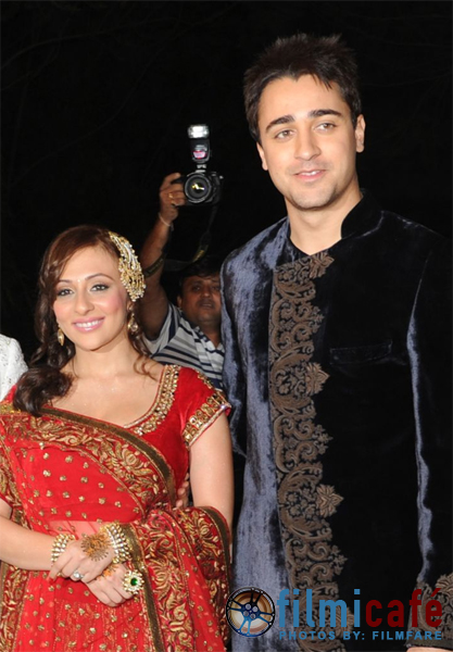 , Imran Khan and Avantika Malik Sangeet Ceremony Pics