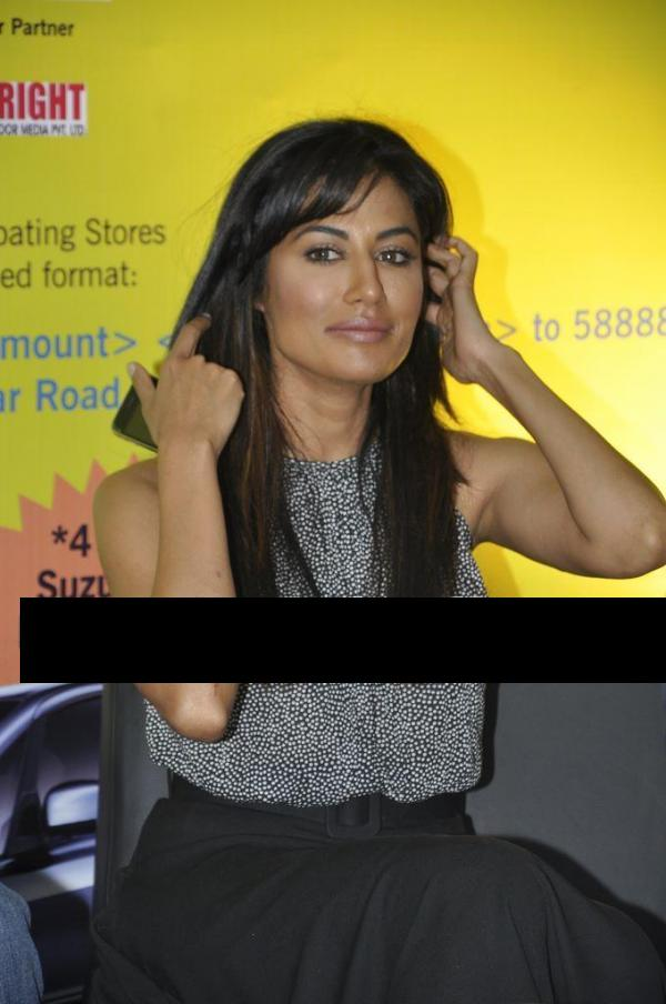 Dusky Chitrangda Singh promotes Yeh Saali Zindagi 