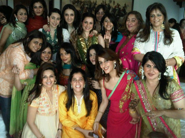 Bollywodo Babes at Neelam&#39;s Mehndi