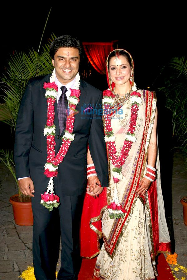  Sameer Soni and Neelam Kothari&#39;s wedding ceremony Pics