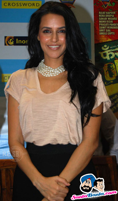 Sexy Neha Dhupia at Phas-Gaye-Re-Obama-DVD-Launch