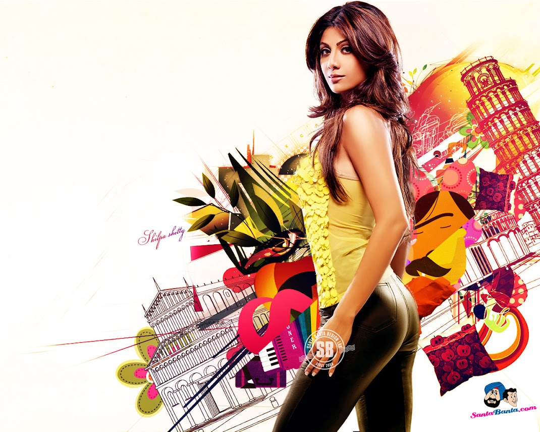 Shilpa Shetty Hottest Wallpaper