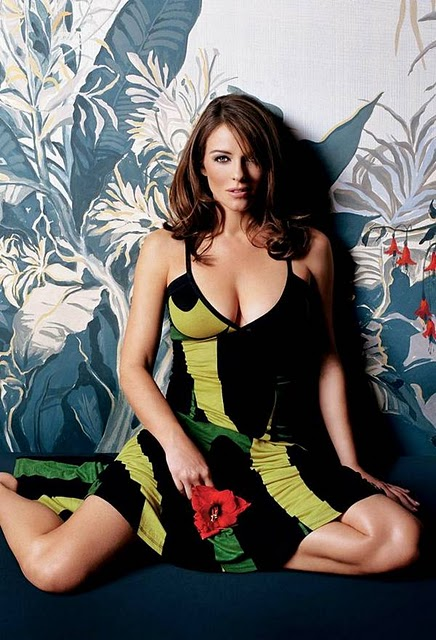 Elizabeth Hurley Latest HOT Photoshoot for a Clothing Line